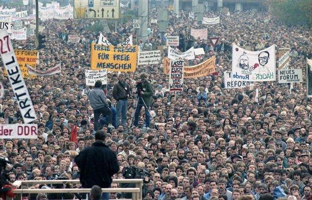 Alexanderplatz Demonstration