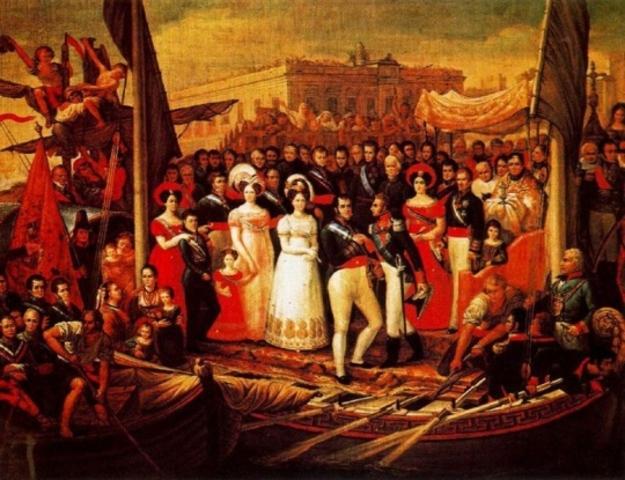Oleadas revolucionarias en España y en Grecia