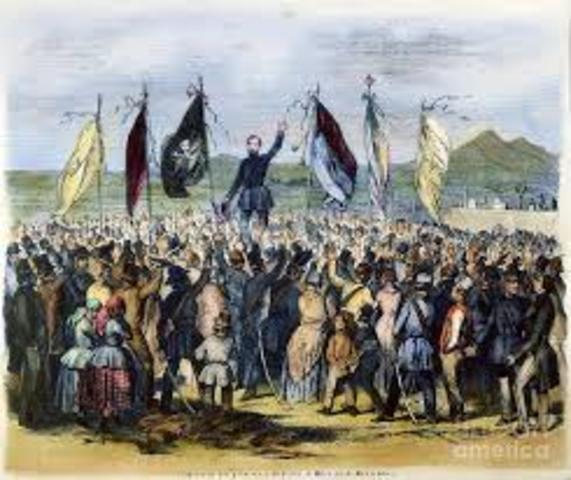 Oleadas revolucionarias en Francia y el Imperio Austríaco