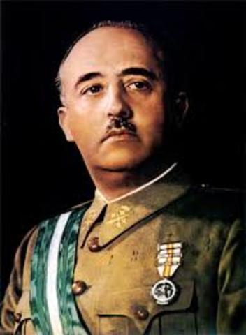 Franco anomenat Cap d'Estat i Generalissim ( Diana Renghea)