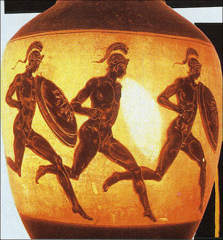 The First Olympics 776 BCE