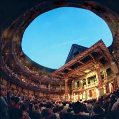 Globe Theature is built in London