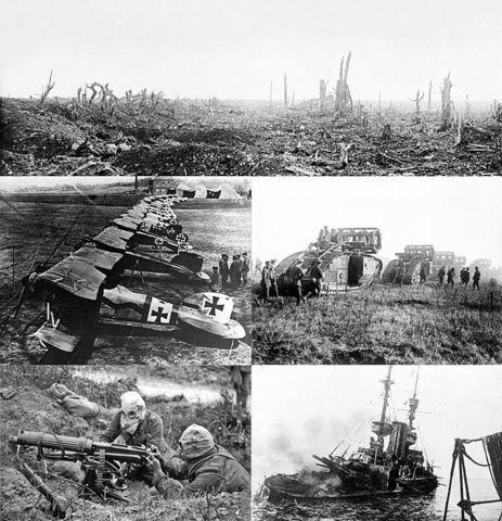 Første verdenskrig start