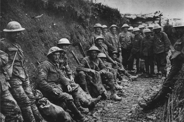 1. verdenskrig slut
