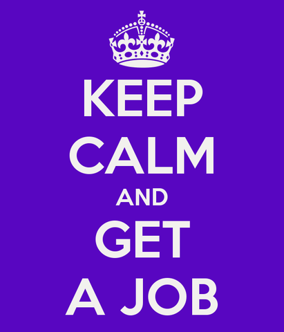 Start my first job