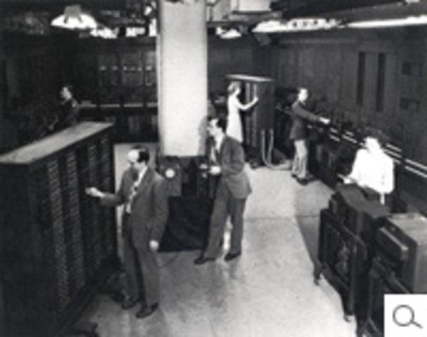 Public sees the ENIAC