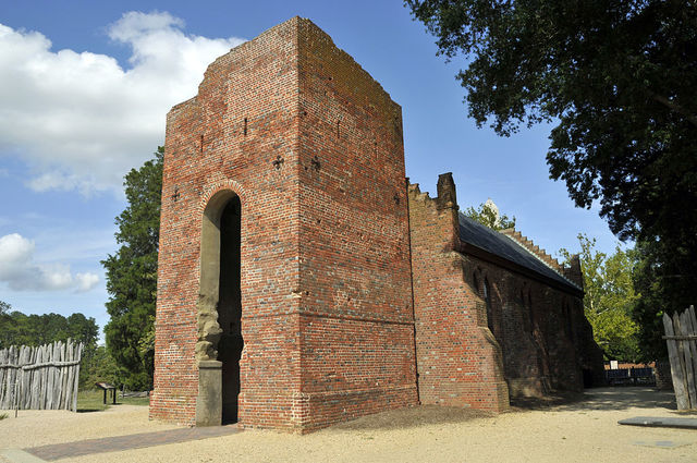 First English settlement in North America is established at Jamestown, Virgina