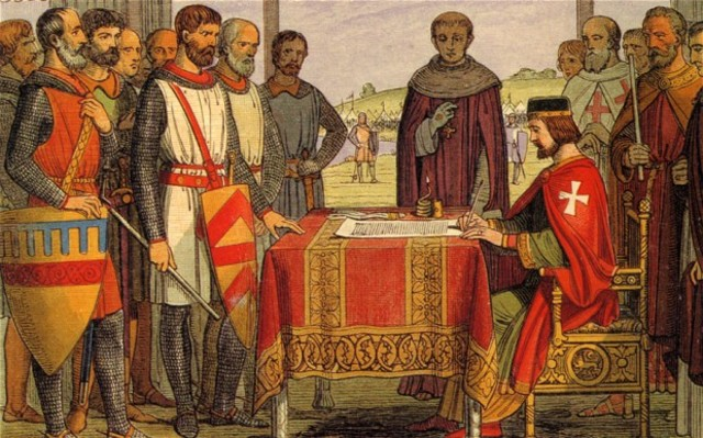 The Magna Carta was Signed