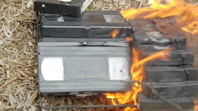 VHS Crash and Burn