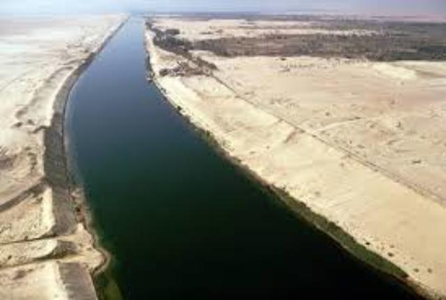 Opening the Suez Canal