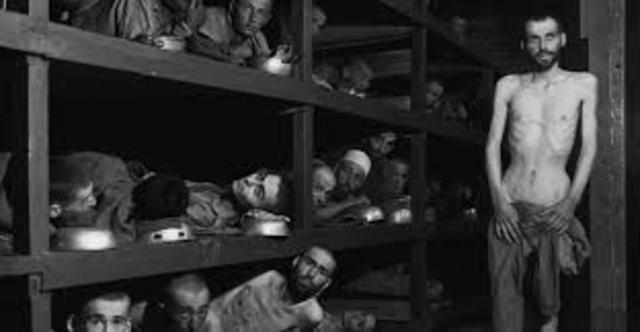 Elie Wiesel Is Liberated from Buchenwald