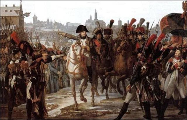 Tropas Napoleónicas acampan en San Sebastián de los reyes