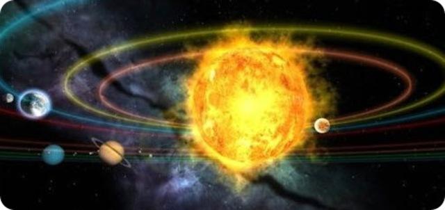 Creación del Sistema Solar y de la Tierra