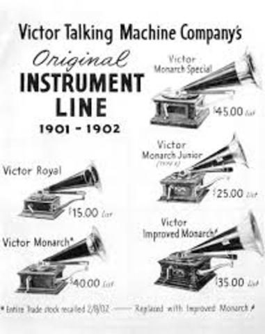 The Victor Talking Machine Company founded by Emile Berliner