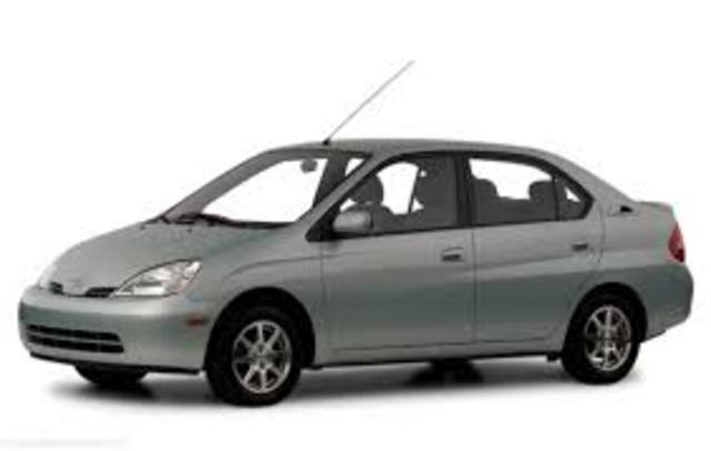 The US is introduced to the Toyoya Prius