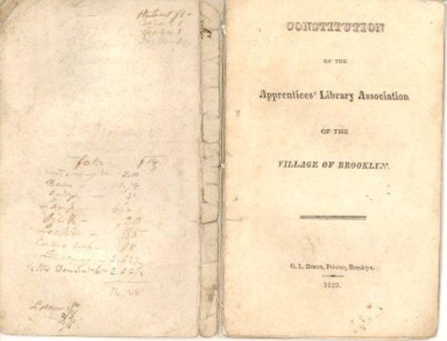 Brooklyn's Apprentice Library Association