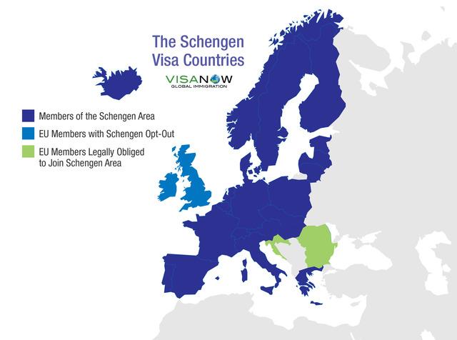 The Schengen agreement