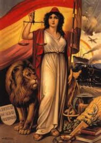 Proclamació II República Espanyola (Mireia de la Vega)