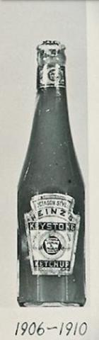 Heinz Ketchup Bottle 1906