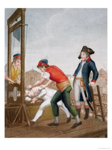 Robespierre executed