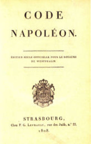 Civil Code(Napoleon)
