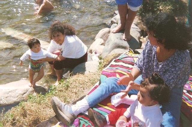 Mi primera vez en el rio