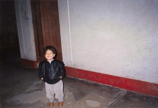 mi primera chaqueta de cuero