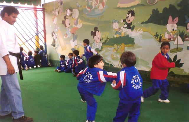 Mi primer dia de karate