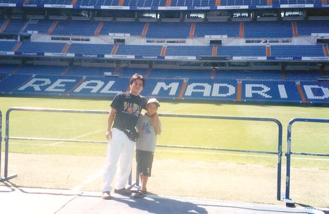 Cuando fui a ver al Real Madrid