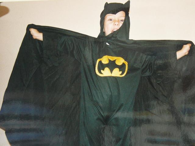 Mi primer Disfraz de Batman