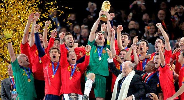 España gana su primer Mundial de Fútbol