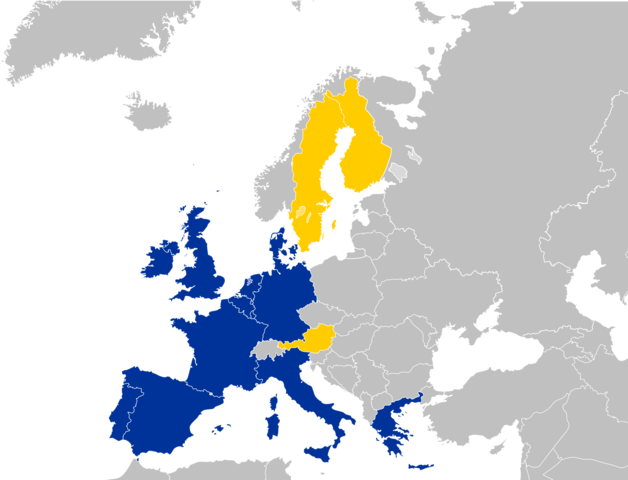Accession of  Austria, Finland and Sweden