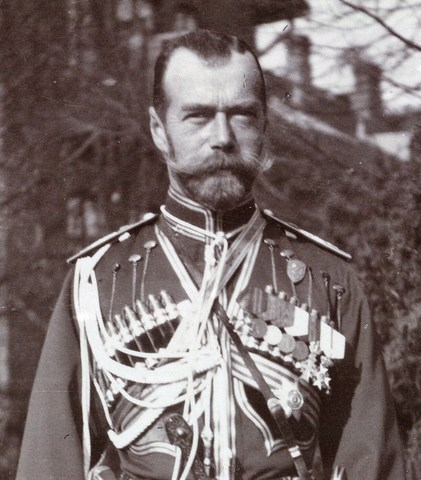 Czar Nicholas II abdicates the Russian throne