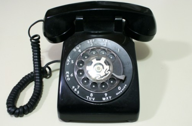 Multi Frequency Signaling Phone - Bell System