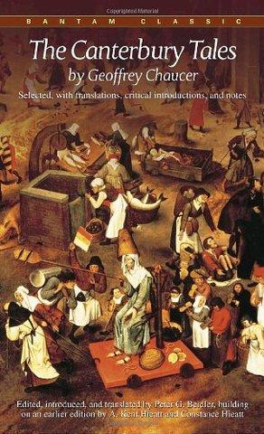 """""""Los Cuentos de Canterbury """", de Geoffrey Chaucer"""