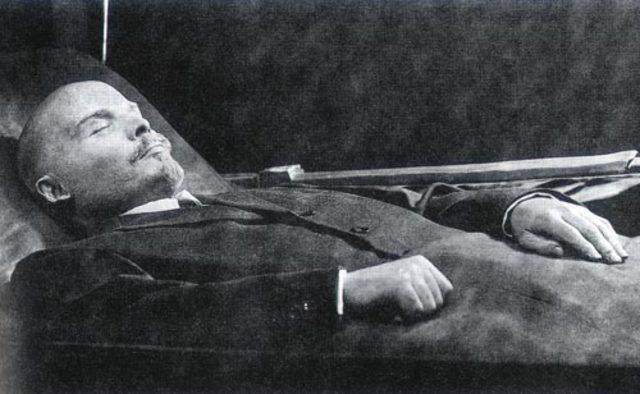 Vladimir Lenin's Death
