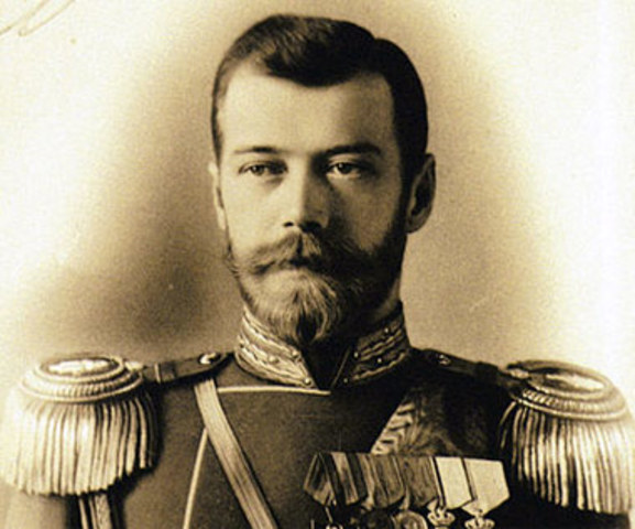 Nicholas the II abdicates the throne