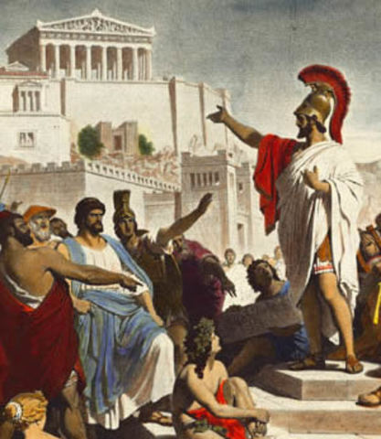 Athenian Democracy Part 1. Archons 8th to 7th Century BCE