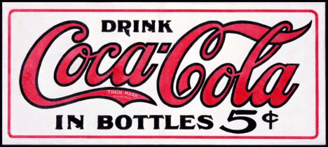 1930 Coca Cola logo