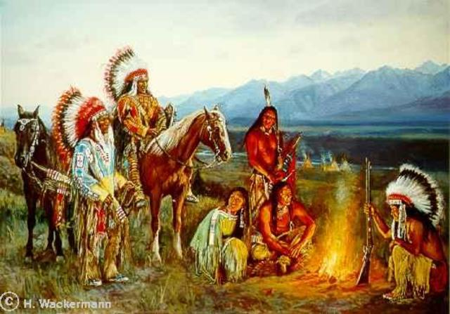 Expedition Is Aided by Members of a Native Tribe