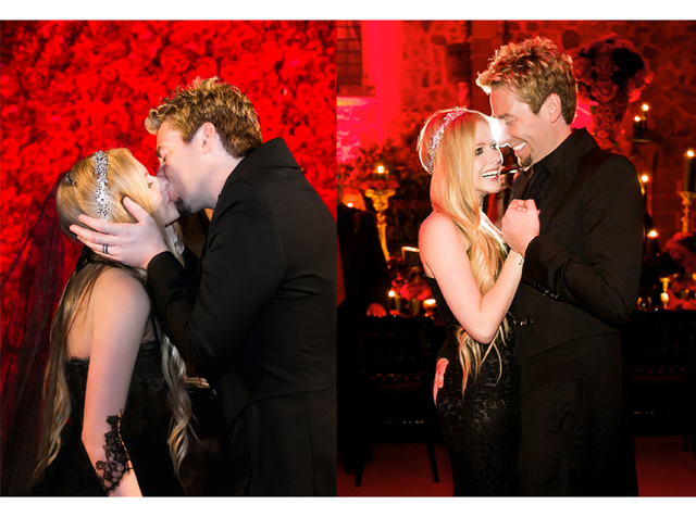 Marriage to Chad Kroeger