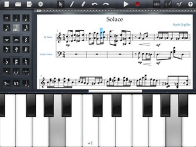 Symphony Pro- Music Notation For iPad
