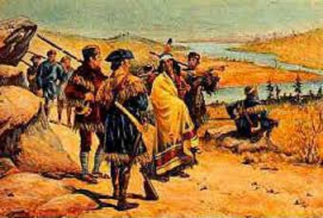 Lewis and Clark encounter the Sioux tribe