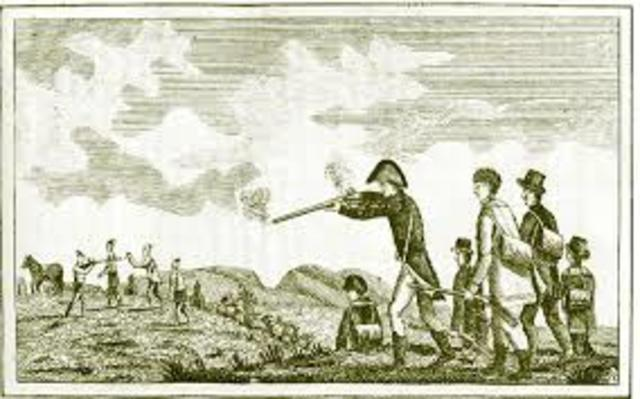 Fight with Blackfoot indians