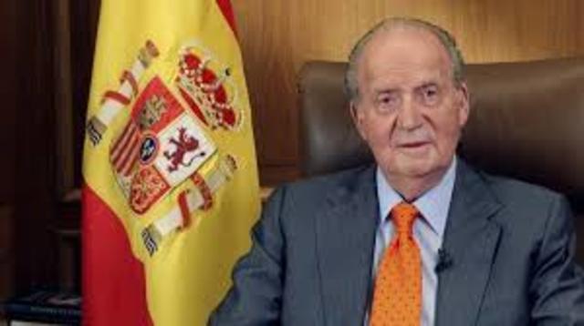 Abdicación rey de España.