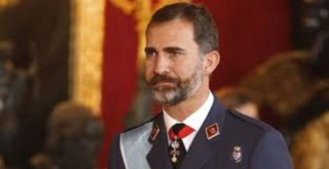 Proclamación nuevo rey de España, Felipe V