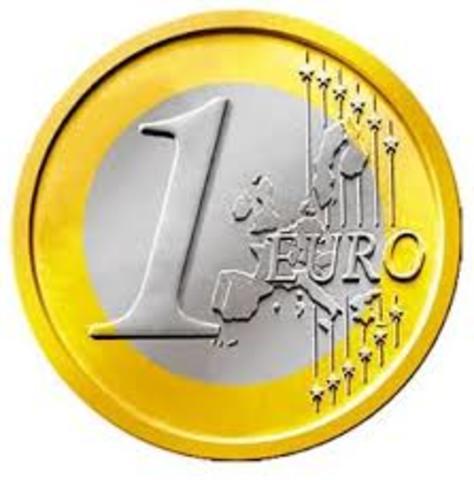 Entrada del euro en España
