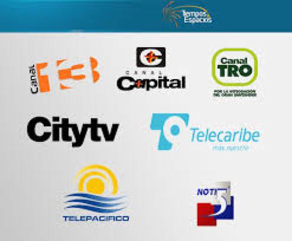 COLOMBIA- TV Primeras  Tx