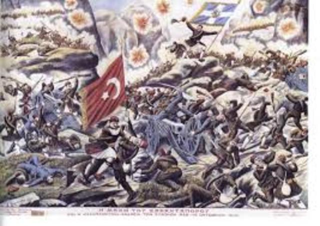 Europe - First Balkan War