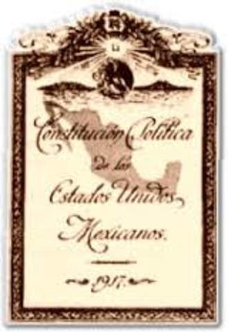America - Constitution of Mexico